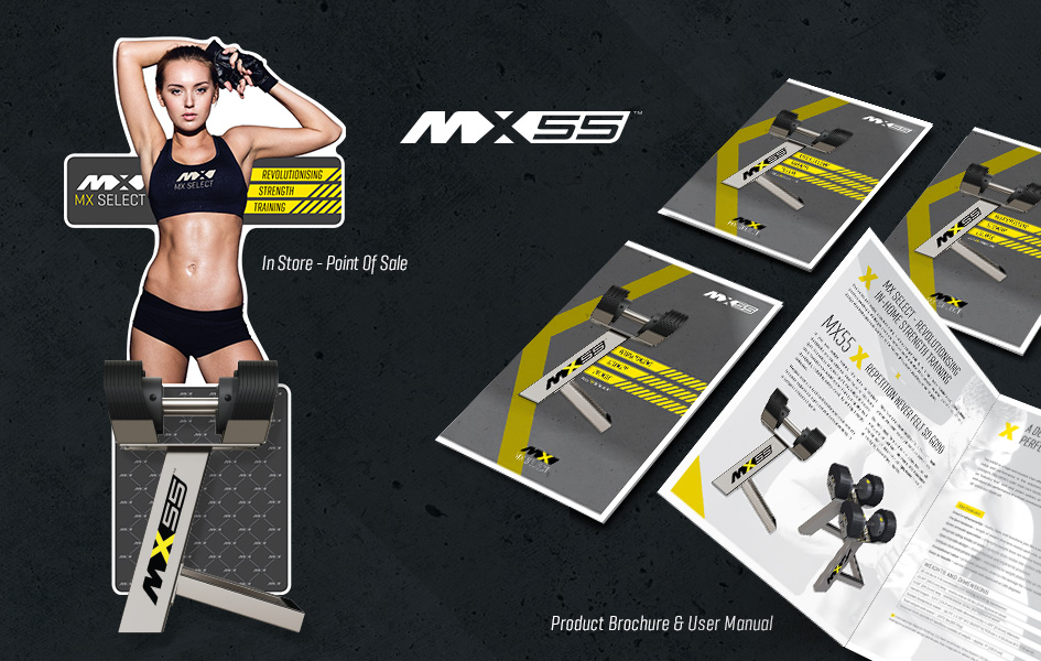 new fitness brand mx55